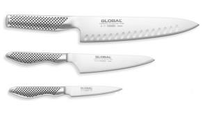 Global gf-37 haches viande couteau inox inoxydable Japon 22 cm