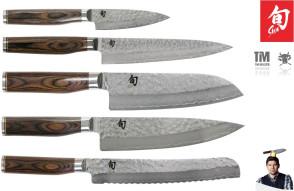 Damian Shun Premier Set de couteaux Tim Malzer par Kai