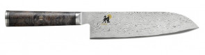 Coltello damasco 133 strati Santoku lama cm. 18 Serie Miyabi 5000MCD 67
