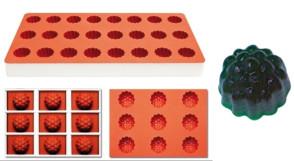 Stampo per gelatine Mora