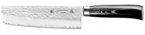 Couteau Nakiri 3 couches cm. 18 série San Mai Tsubame Tamahagane