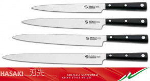 Couteau professionnel Hasaki Yanagi Sashimi de Sanelli Ambrogio