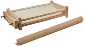 Kit guitare spaghetti: cadre en bois et rouleau à pâtisserie