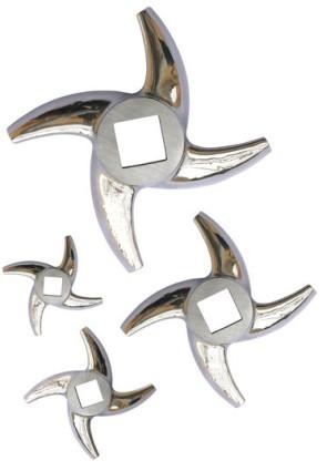 Couteau – croix hache-viande en acier inox