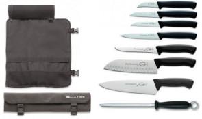 Easy & Light: Mallette complète avec 7 couteaux pour l'école de cuisine
