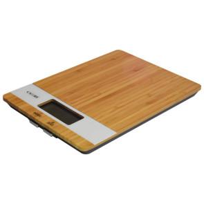 Bilancia digitale con base in Bambù peso 5 Kg. scala 1 gr.