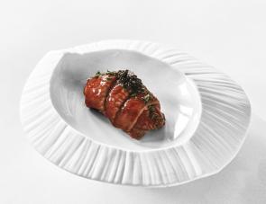 Assiette Gourmet Sumisura Origami ELEMENTS par Royale