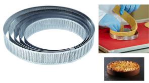 Bande micro-perforée en acier inoxydable Cercle de Pavoni