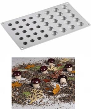 Stampo in silicone Fungo di Pavoni Professional