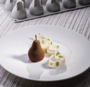 Moule en silicone Poire Kaiser Gourmand Line by Pavoni Professional
