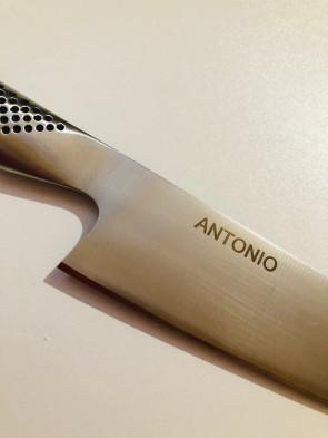 Personnalisation du couteau de gravure laser