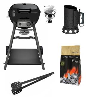 Barbecue a Carbonella KENSINGTON 570 C + Carbonella + PINZA e CAMINO in OMAGGIO di Outdoorchef