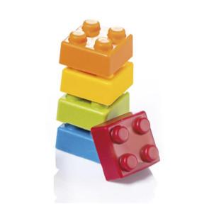 Brique carrée: moule en polycarbonate pour chocolat praliné Martellato
