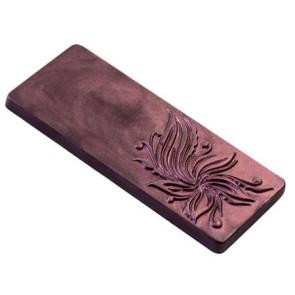 Moule en polycarbonate Tablette 65 gr. Floreal Choco Style par Martellato