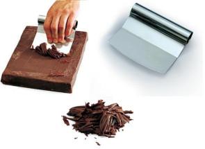 Raschietto cioccolato medio