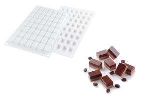 Stampo in silicone Micro Rectangle 5 di Silikomart Professional