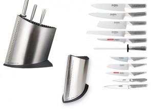Bloc Global Complet avec 10 couteaux et 1 aiguiseur en céramique