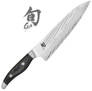 Couteau damas du Chef Série Shun Nagare de Kai