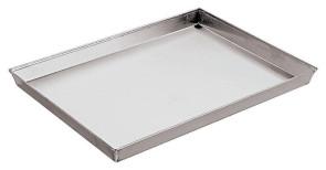 Plaque de cuisson rectangulaire aluminisée