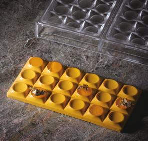 Moule en polycarbonate Bricks tablet de Pavoni Professional