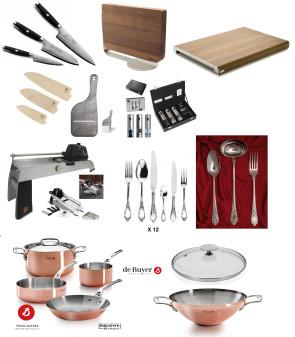 EXCELLENCE: l'excellence sur la table et dans la cuisine PERSONNALISÉE