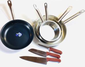 Les Bases: set d'ustensiles de cuisine indispensables à la cuisine de base