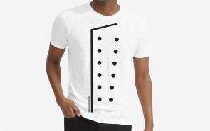 T-shirt CHEF Uniforme créatif avec logo AFcoltellerie - Couleur blanche