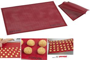 Tapis microperforé en silicone de Pavoni