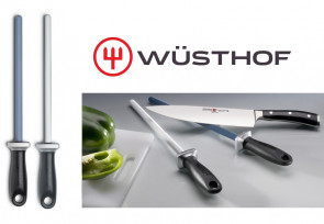 Couple de céramiques fusils Wusthof: excellente affûtage