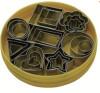 Set de 24 découpe-pâte géométriques