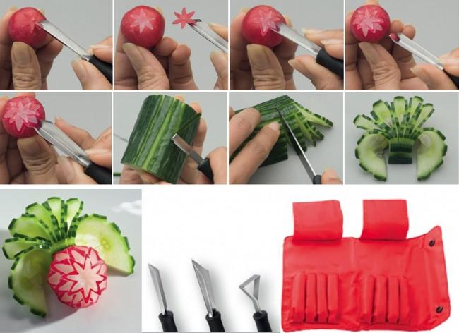intaglio verdure