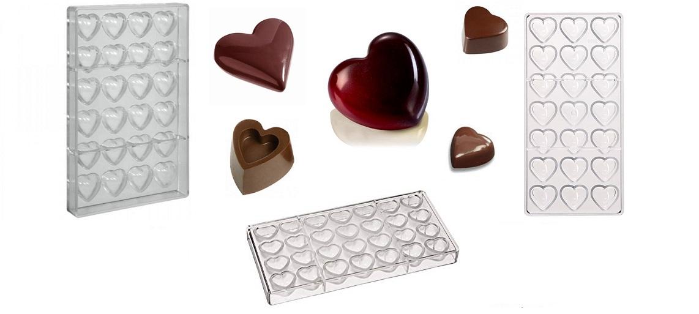 Stampi cioccolato San Valentino