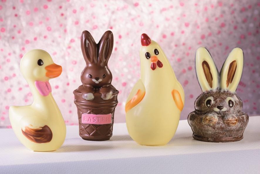 Animali cioccolato pasqua