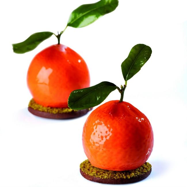 stampo silicone mandarino