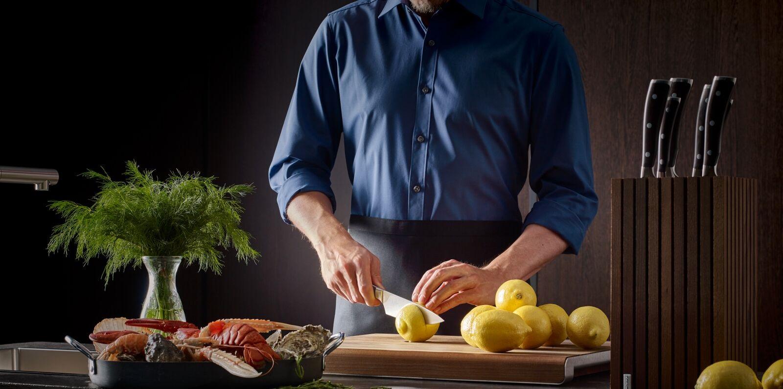 Coltello da chef, la sua utilità in cucina
